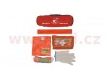 Povinná výbava SK - lékárnička, trojúhelník, lano (1,9 t), vesta, rukavice ČERVENÁ BRAŠNA