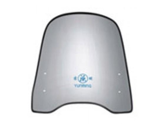 Ochranné plexisklo PL-0618 pro skútr a motorku 43x20x58