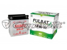 baterie 12V, FB10 l-A2, 11Ah, 130A, konvenční 135x90x145, FULBAT (vč. balení elektrolytu)