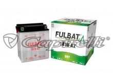 baterie 12V, FB14-A2, 14Ah, 165A, konvenční 134x89x166, FULBAT (vč. balení elektrolytu)