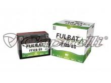 baterie 12V, FT12A-BS, 10Ah, 175A, bezúdržbová MF AGM 150x87x105, A-TECH (vč. balení elekt
