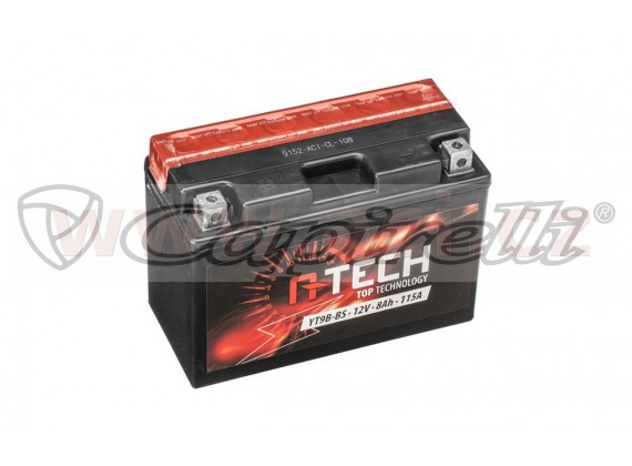 baterie 12V, FT9B-BS, 8Ah, 115A, bezúdržbová MF AGM 150x70x105, A-TECH (vč. balení elektro