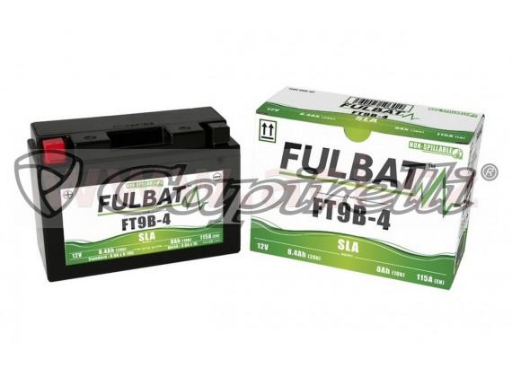 baterie 12V, FT9B-BS, 8Ah, 115A, bezúdržbová MF AGM 150x70x105, FULBAT (vč. balení elektro