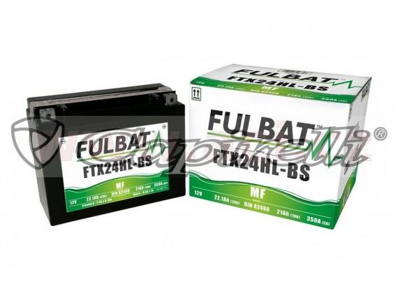 baterie 12V, FTX24HL-BS, 22,1Ah, 350A, bezúdržbová MF AGM 205x87x161, FULBAT (vč. balení e
