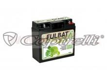 baterie 12V, SLA12-18, 18Ah, 150A, bezúdržbová MF AGM 181x76x167, FULBAT (aktivovaná ve vý