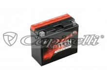 baterie 12V, YT12B-BS, 11Ah, 125A, bezúdržbová MF AGM 151x70x130, A-TECH (vč. balení elekt
