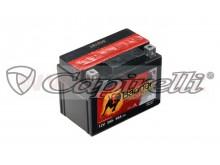 baterie 12V, YTX4L-BS, 3Ah, 50A, bezúdržbová MF AGM 114x71x86, A-TECH (vč. balení elektrol