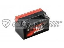 baterie 12V, YTX7A-BS, 6Ah, 90A, bezúdržbová MF AGM 150x87x94, A-TECH (vč. balení elektrol