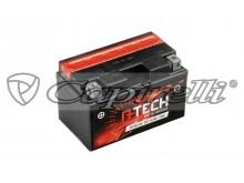 baterie 12V, YTZ10S-BS, 8,6Ah, 190A, bezúdržbová MF AGM 150x87x93, A-TECH (vč. balení elek