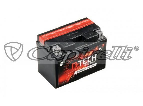 baterie 12V, YTZ12S-BS, 11Ah, 210A, bezúdržbová MF AGM 150x87x110, A-TECH (vč. balení elek