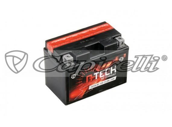 baterie 12V, YTZ14S-BS, 11,2Ah, 230A, bezúdržbová MF AGM 150x87x110, A-TECH (vč. balení el