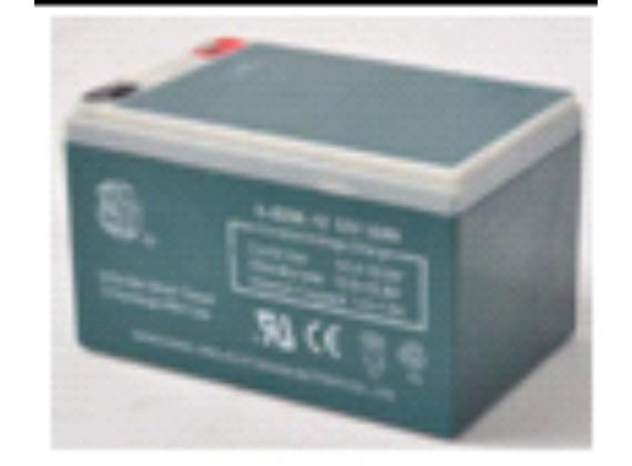 120V/12AH Baterie
