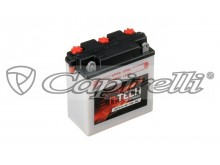baterie 6V, 6N11A-3A, 11Ah 80A, konvenční 122x62x132 A-TECH (vč. balení elektrolytu)