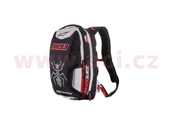 batoh JEREZ edice Marc Marquez, ALPINESTARS (černá/bílá/červená, objem 25 l)