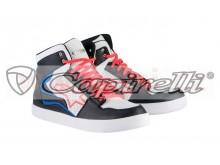 boty STADIUM, ALPINESTARS (černá/bílá/červená/modrá)