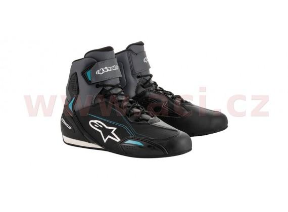boty STELLA FASTER 3, ALPINESTARS, dámské (černé/šedé/modré)