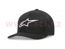 kšiltovka AGELESS CURVE HAT, ALPINESTARS, dětská (černá/bílá)