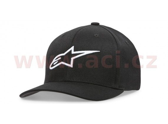 kšiltovka AGELESS HAT, ALPINESTARS, dámská (černá/bílá) vel. OS
