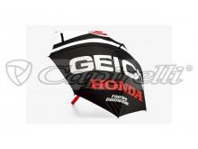 deštník FLARE, 100% (černá/bílá)