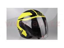 Přilba JH-1 Safety, LAZER (černá/žlutá fluo)