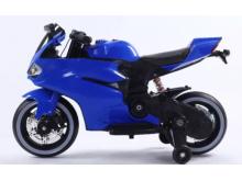 Dětská elektro motorka pro nejmenší - modrá