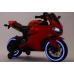 Dětská elektro motorka pro nejmenší - červená