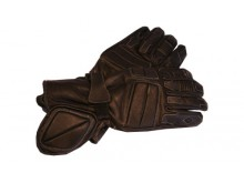 Motocyklové rukavice kožené cestovní Clasic velikost S