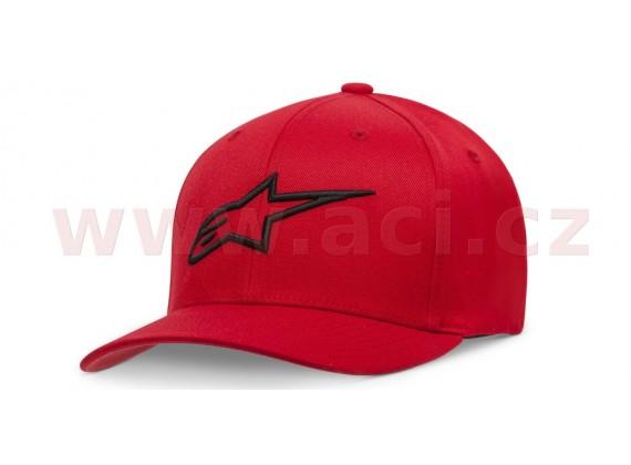 kšiltovka AGELESS CURVE HAT, ALPINESTARS, dětská (červená/černá)