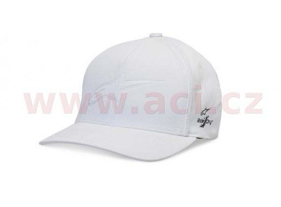 kšiltovka AGELESS DEBOSS TECH HAT, ALPINESTARS (bílá)