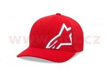 kšiltovka CORP SHIFT MOCK MESH HAT, ALPINESTARS (červená/bílá)