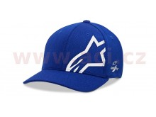 kšiltovka CORP SHIFT SONIC TECH HAT, ALPINESTARS (modrá/bílá)