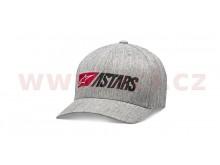 kšiltovka INDULGENT HAT, ALPINESTARS (šedá)