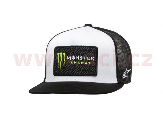 kšiltovka MONSTER CHAMP HAT, ALPINESTARS (bílá/černá)
