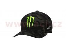 kšiltovka MONSTER MULTICAMO HAT, ALPINESTARS (černá)