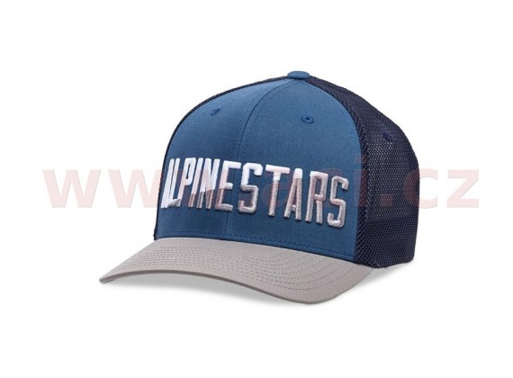 kšiltovka WORD MESHBACK HAT, ALPINESTARS (modrá)