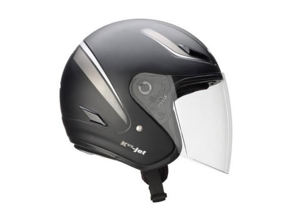 Helma otevřená KV3-JET černá mat