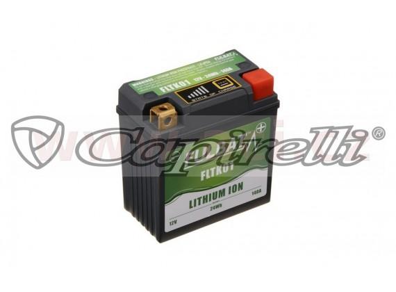 lithiová baterie LiFePO4 FULBAT 12V, 2Ah, 120A, 92x52x90 (pro motocykly KTM)