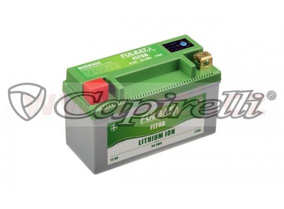 lithiová baterie LiFePO4 FULBAT 12V, 3Ah, 210A, hmotnost 0,56 kg, 150x66x93 mm nahrazuje t