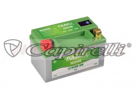 lithiová baterie LiFePO4 FULBAT 12V, 5Ah, 350A, hmotnost 0,85 kg, 150x87x93 mm nahrazuje t