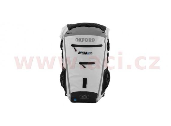 Vodotěsný batoh Aqua25R (bílá/šedá, objem 25l)