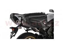 Boční brašny na motocykl P50R (černé, objem 50l, pár)