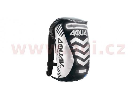 Vodotěsný batoh Aqua V12 Extreme Visibility (černá/reflexní prvky, objem