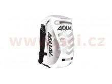 Vodotěsný batoh Aqua V12 Extreme Visibility (bílá/šedá/reflexní prvky, ob