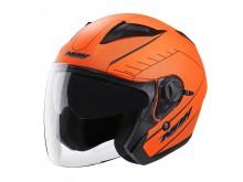 Přilba N124 SOFT, NOX (oranžová neon matná)