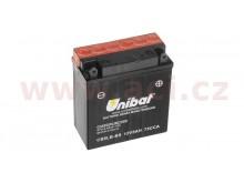 baterie 12V, YTX5L-BS, 4Ah, 70A, bezúdržbová MF AGM 114x71x106, A-TECH (vč. balení elektro