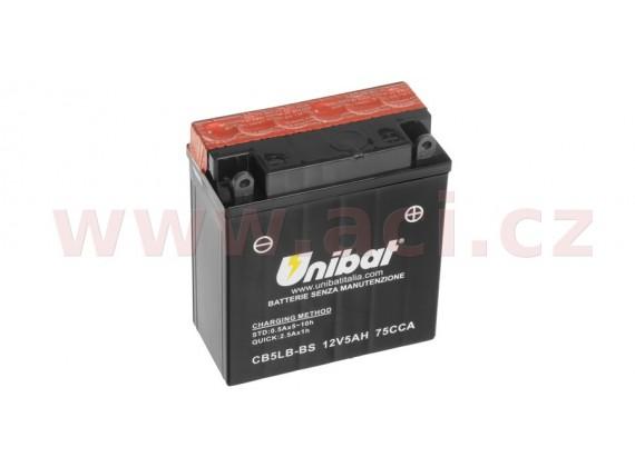 baterie 12V, YTX7L-BS, 6Ah, 85A, bezúdržbová MF AGM 114x71x134, A-TECH (vč. balení elektro