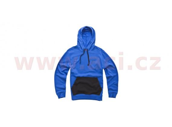 mikina s kapucí MODEST, ALPINESTARS (modrá)