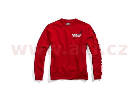 mikina SECT, 100% - USA (červená)