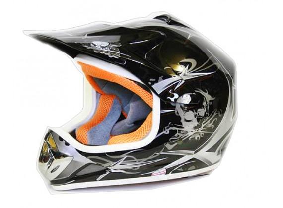 Moto přilba Sunway NITRO Enduro Junior PHX - černá