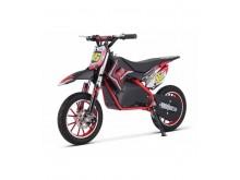 Dětská elektro minicros motorka Gepard 36V / 800W - červená